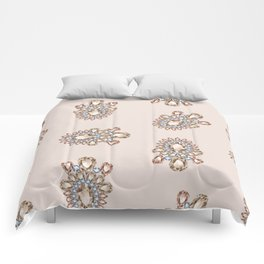 Jewelbox: Morganite Brooch in Light Blush Comforters