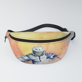 Colorful Skiing Art 2 Fanny Pack