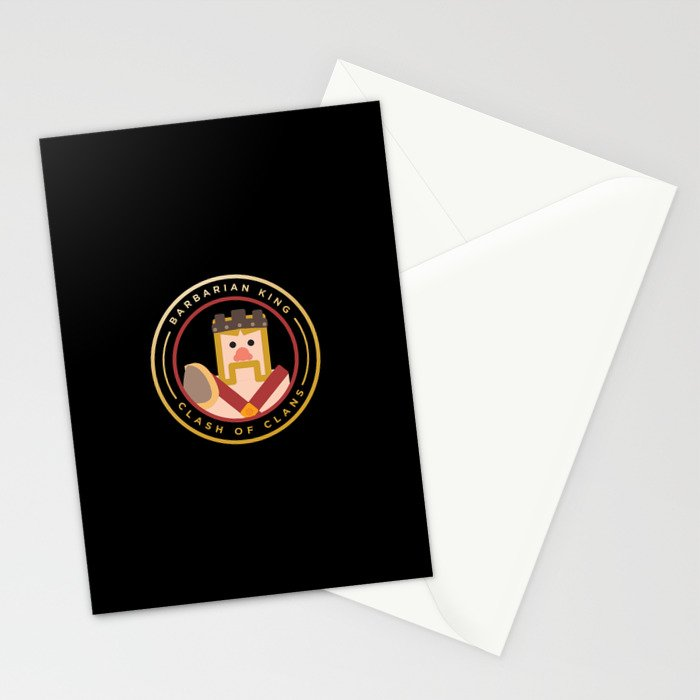 Barbarian King Stationery Cards