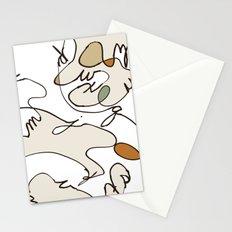 Cursive Alphabet Stationery Cards