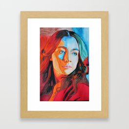 Saoirse Ronan Framed Art Print