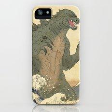Godzilla Ukiyo-e  iPhone (5, 5s) Slim Case