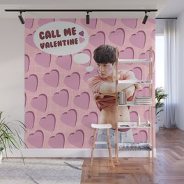Call Me Valentine - Lay Wall Mural