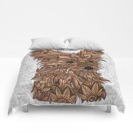 Cute Yorkie Comforters