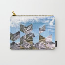 Mountain Fragments Carry-All Pouch