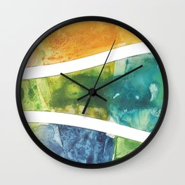 Beach Front Wall Clock