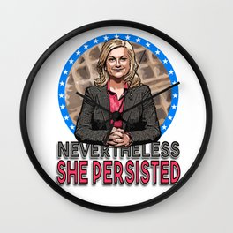 NevertheLESLIE, She Persisted Wall Clock