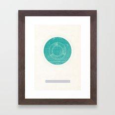 Uranus I Framed Art Print