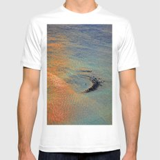 Colors of the Caribbean Mens Fitted Tee White MEDIUM