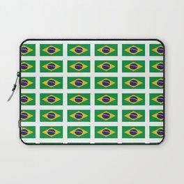 flag of brazil 4-Brazil, flag, flag of brazil, brazilian, bresil, bresilien, Brasil, Rio, Sao Paulo Laptop Sleeve