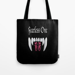 Fearless One logo Tote Bag