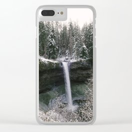 silver falls south Clear iPhone Case