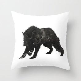 Dark Romance Throw Pillow