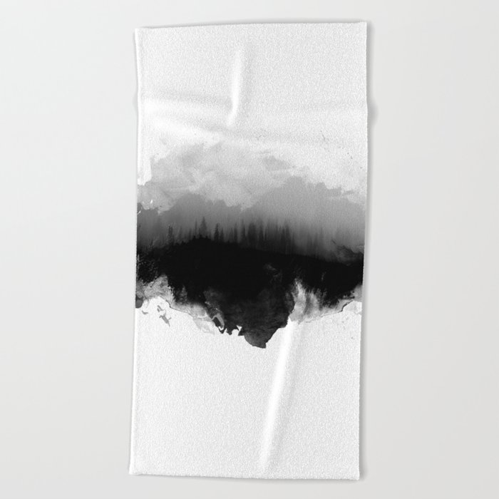 Deep into the forest Beach Towel