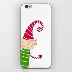 Christmas Elf  iPhone & iPod Skin