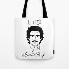 Luisito Rey Tote Bag