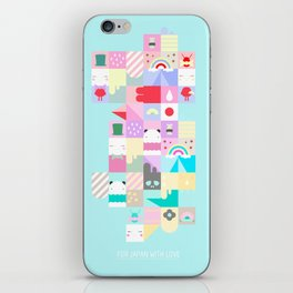 For Japan with love 4 iPhone Skin