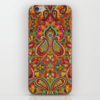 paisley iPhone & iPod Skins featuring Paisley by Aimee St Hill