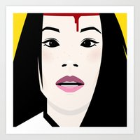 kill bill Art Prints featuring Kill Bill by Brettmatic