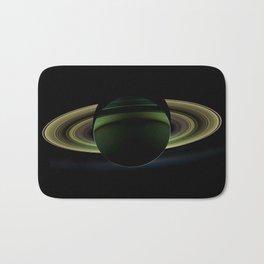 The Rings of Saturn Bath Mat