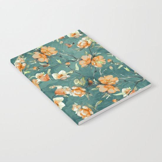 Flowers & Birds Notebook