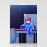 megaman Stationery Cards featuring Megaman II  by Magnta