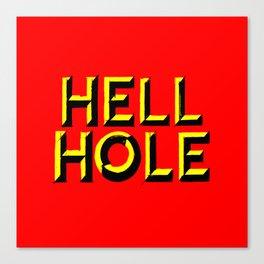 holey Canvas Print