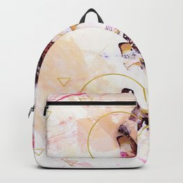 Abstract butterflies Backpack