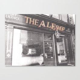 The Ale Shop Canvas Print