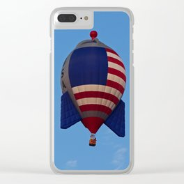 The American Rocket II Clear iPhone Case