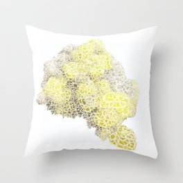 Quartz, Crystal 2 Throw Pillow