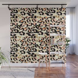 Abstract Leopard Print Wall Mural