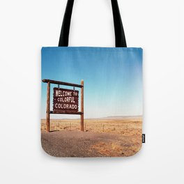 Colorful Colorado Tote Bag