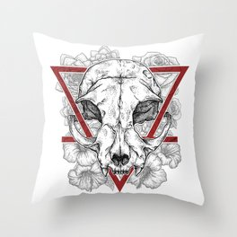 Sealed fate Throw Pillow