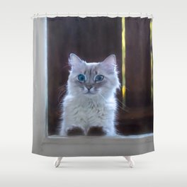 What about second breakfast? Shower Curtain