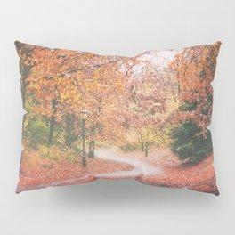New York City Autumn in Brooklyn Pillow Sham