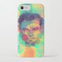 leonardo dicaprio iPhone & iPod Cases featuring Leonardo Dicaprio by Rene Alberto