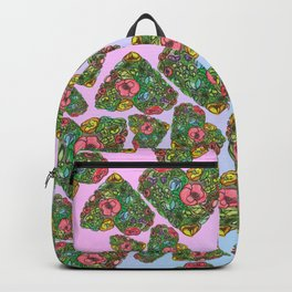 Flower`s hearts Backpack