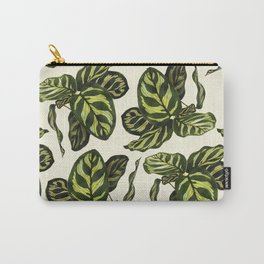 calathea botanical interior plant Carry-All Pouch