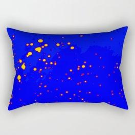 Puntos Tricolor  Rectangular Pillow