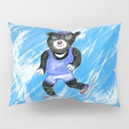 Skating bear Pillow Sham