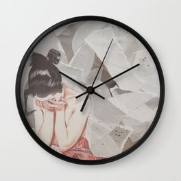 Composition IV: It's okay not to be okay Wall Clock