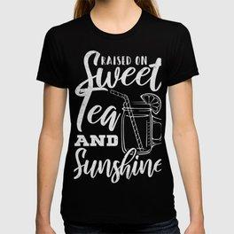 Sweet Tea And Sunshine Cool Summer T-Shirt T-shirt