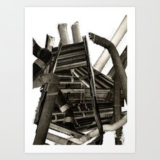 Pipes Art Print