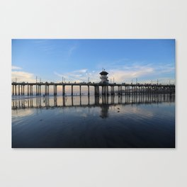 Reflections of the Pier Canvas Print