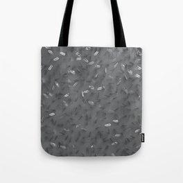 Razor Blades Graphite Tote Bag
