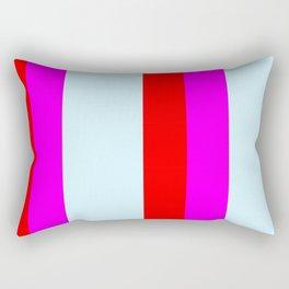 stripe pattern home decor Rectangular Pillow