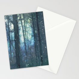 The Woods In Winter Stationery Cards