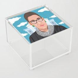 Ruth Bader Ginsburg Notorious RBG Acrylic Box