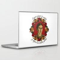frida Laptop & iPad Skins featuring FRIDA by badOdds